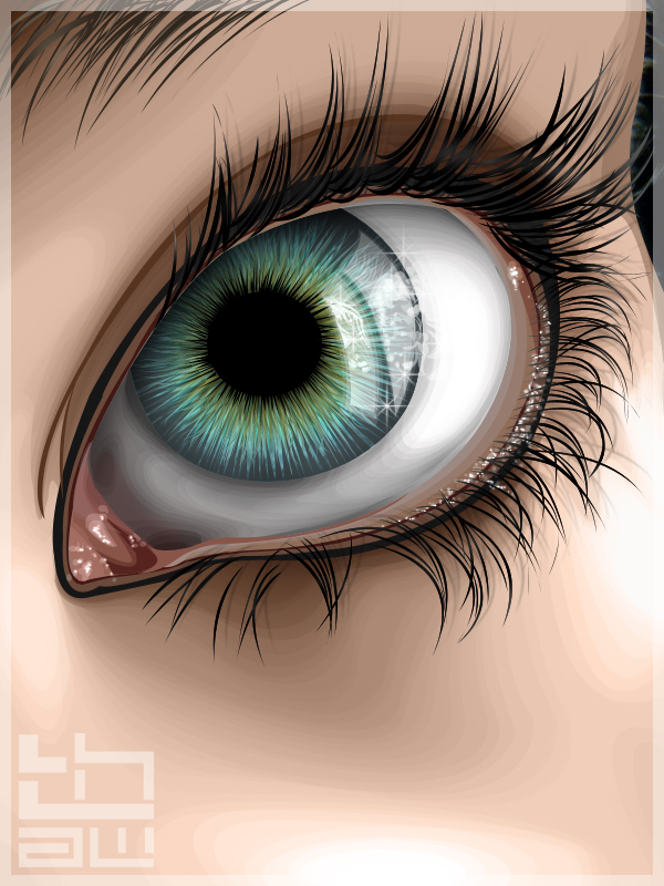 vexel illustration eye