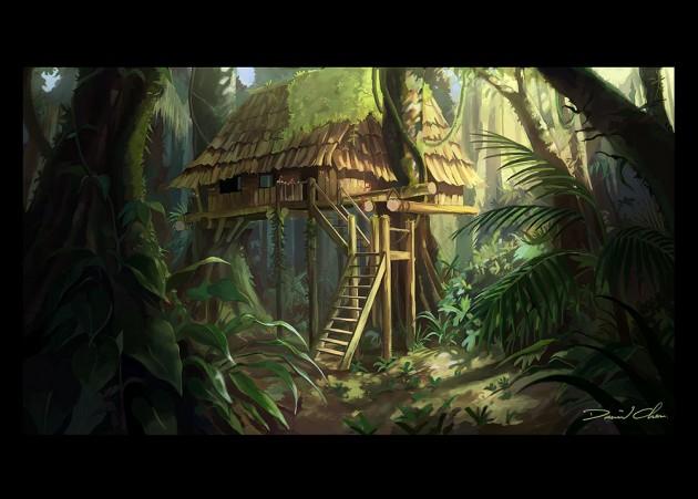 Digital Painting Jungle