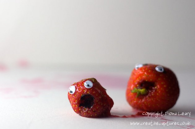 stawberry creative humor photograph