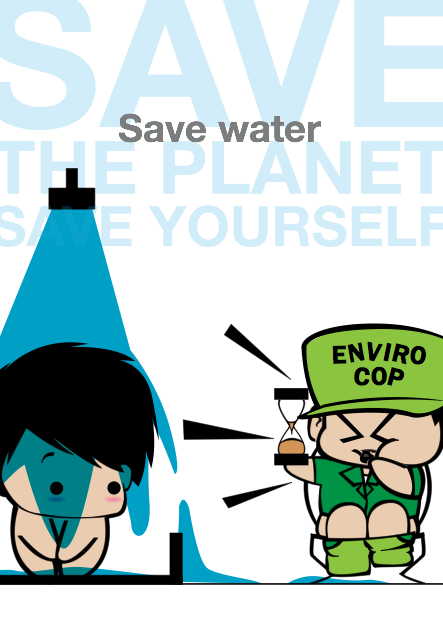 save water shower
