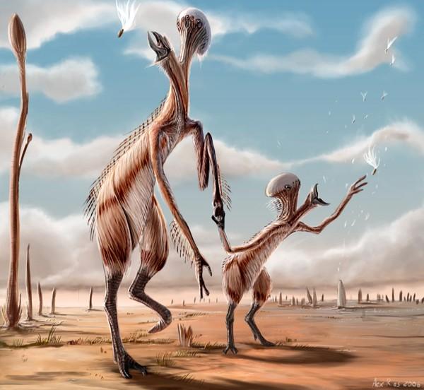 alien parent illustration