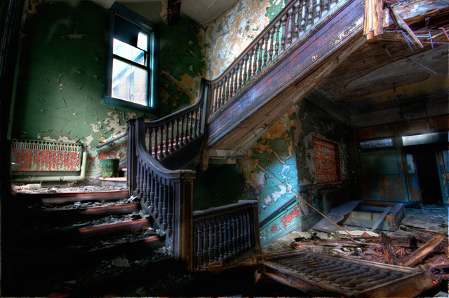 House of Horror urban decay photography