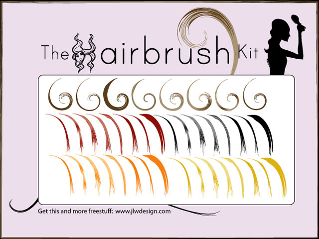 Illustrator air brush set