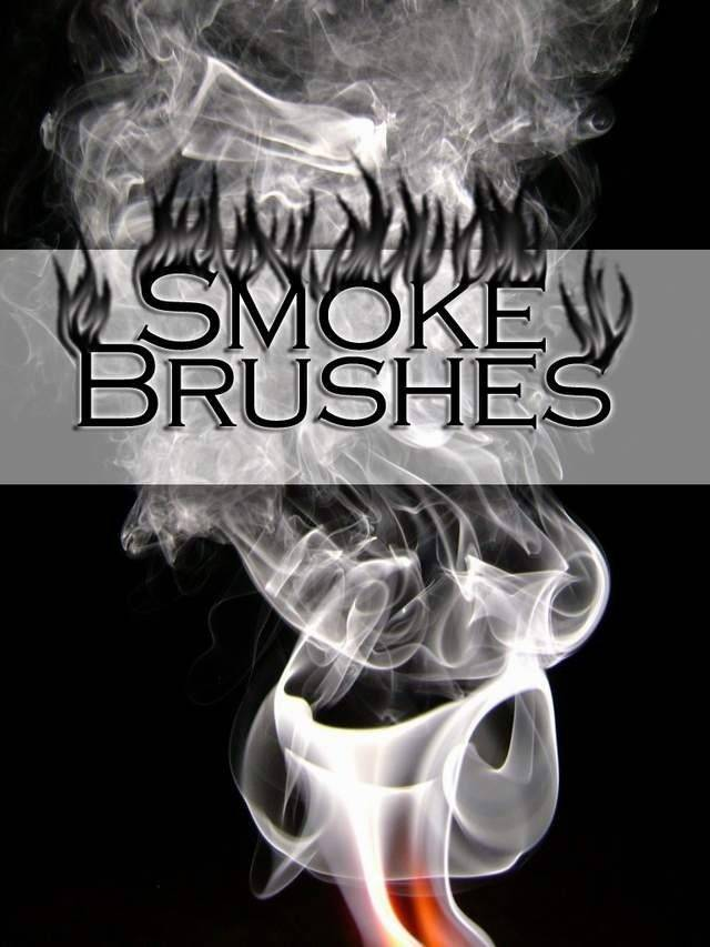 Smoke Brushes for Photoshop 7.0