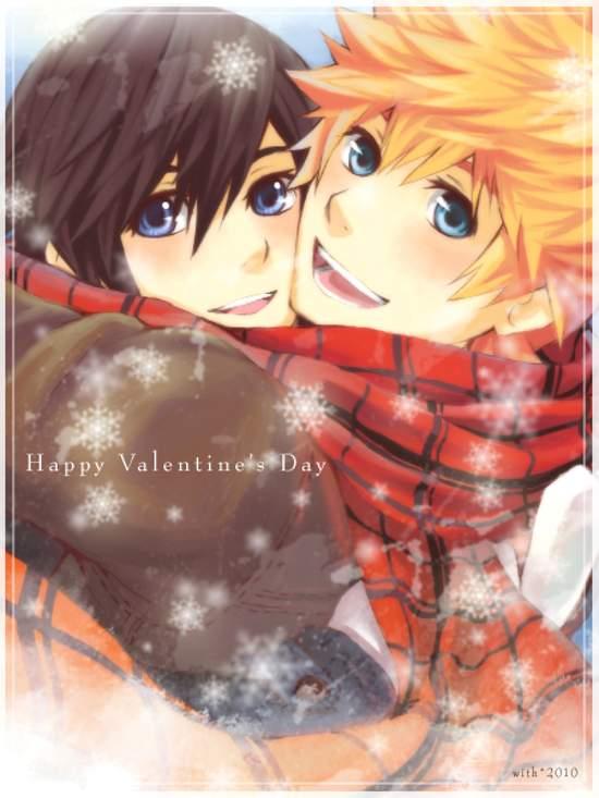 beautiful valentine u0026 39 s day anime artworks