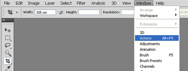 Loading Actions in Photoshp