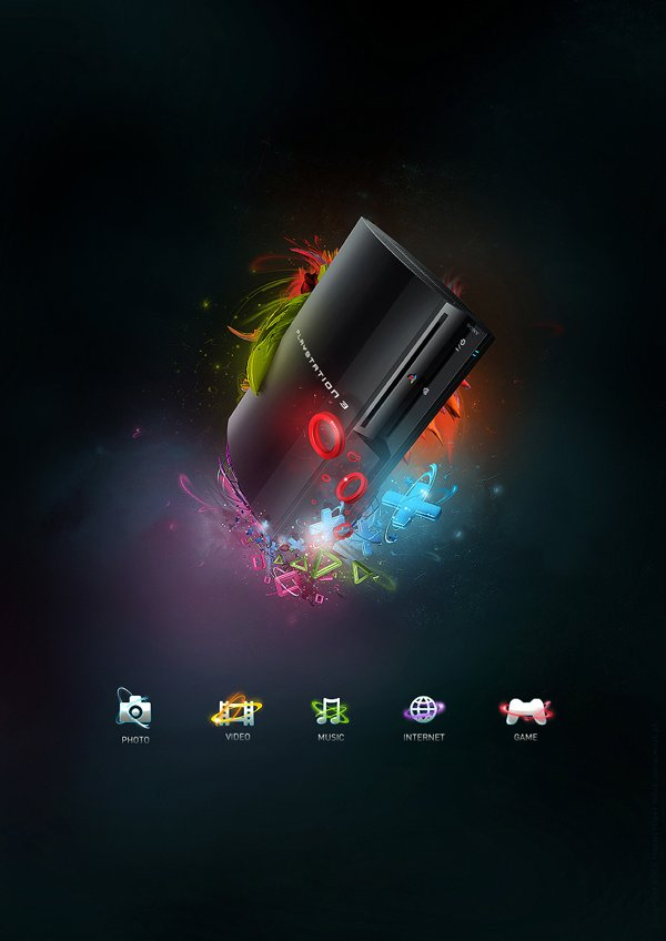 Playstation 3 poster