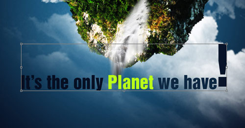 Save earth poster design tutorial of photoshop