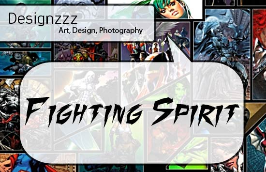 Fighting Spirit font