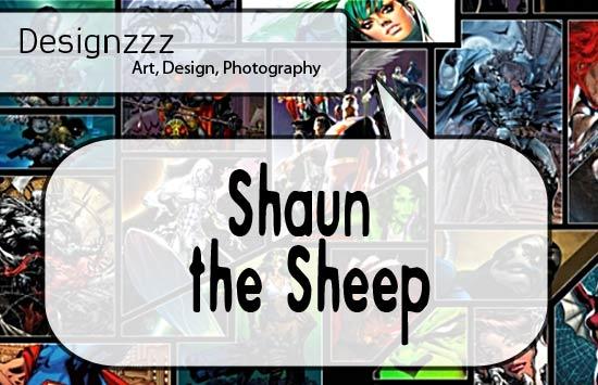 Shaun the sheep font