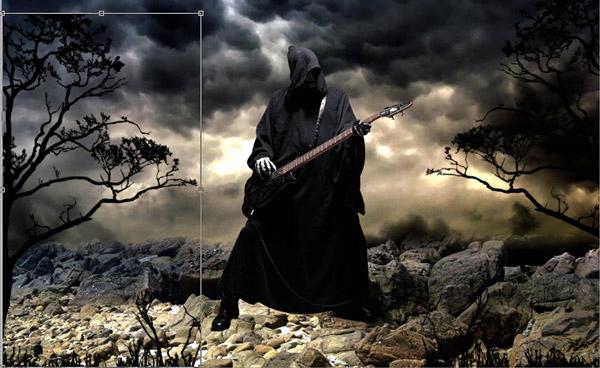 Adobe Photoshop Horror Tutorials Grave Yard Music Wallpaper