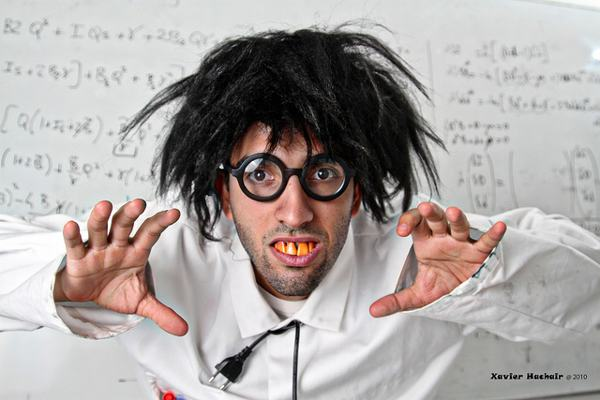 funny scientist photography