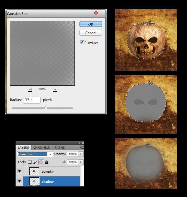 adobe photoshop tutorials designing a halloween wallpapers