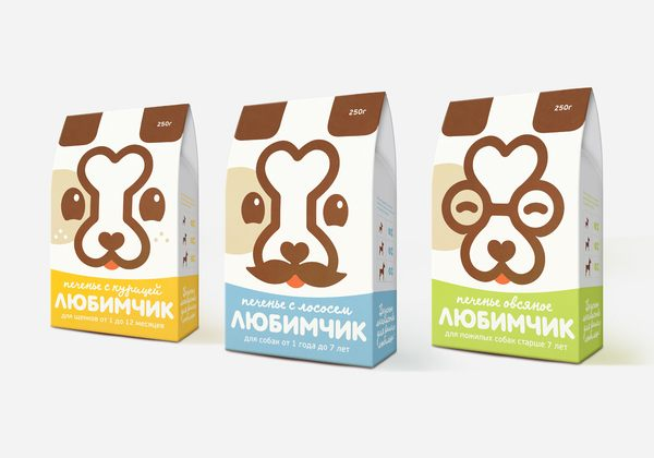 creative and colorful packaging designs for cookies