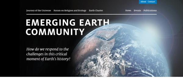 Emerging Earth web theme