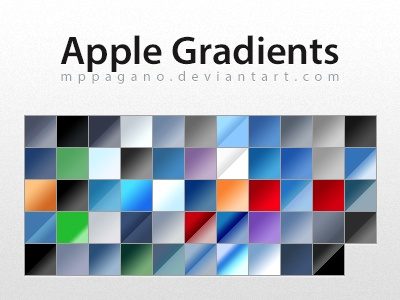 54 Gradients pack for adobe photoshop