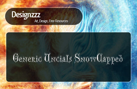 amazing snow fonts download