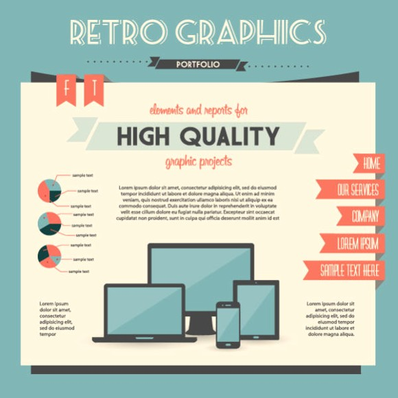 Economy Infographics design elements vector graphic 01