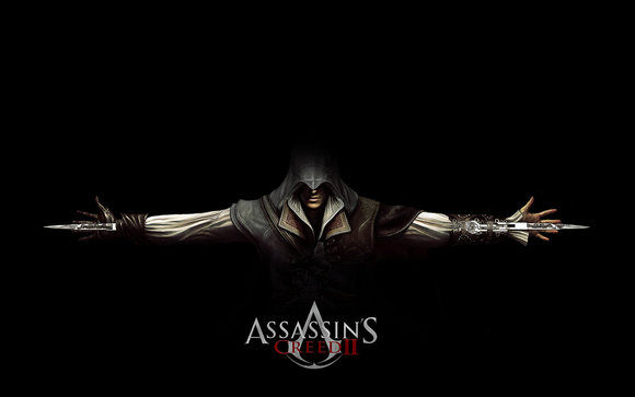 Assassins Creed 2 Ezio Black wallpaper