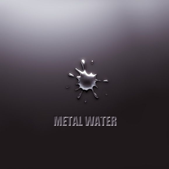 metal water wallpaper