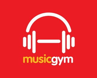 Music Gym Logo Idea