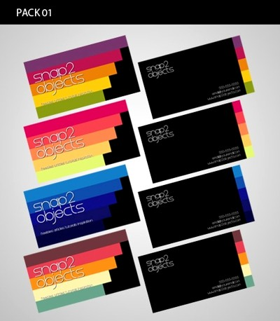 5 Business Card Template Packs1