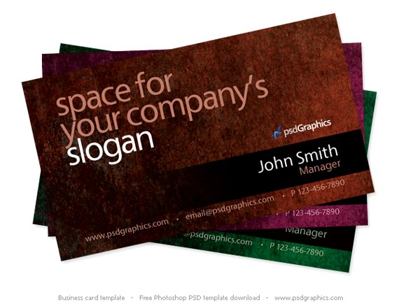 grunge-business-card-template
