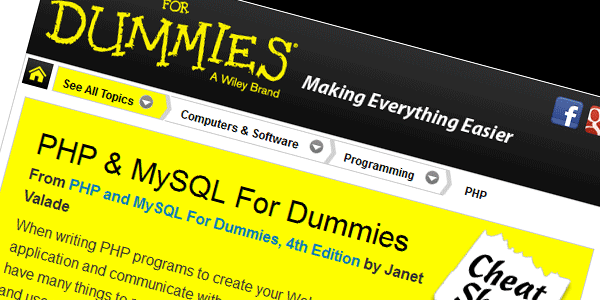 Dummies-cheatsheet
