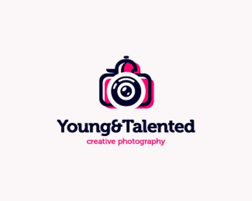 talented photographer logo