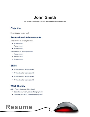 Best Free Microsoft Word Resume Templates