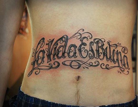 la vida es tattoo
