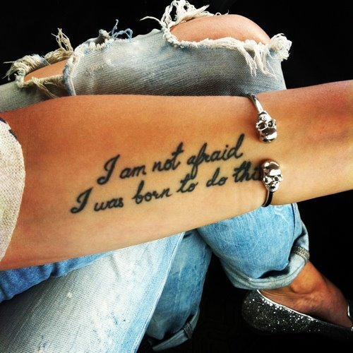 77 best tattoo quotes with examples. Black Bedroom Furniture Sets. Home Design Ideas