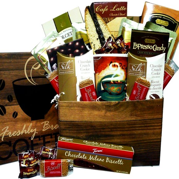 Coffee Lovers Care Package Gift Box