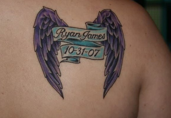 A cool tatto as memorial