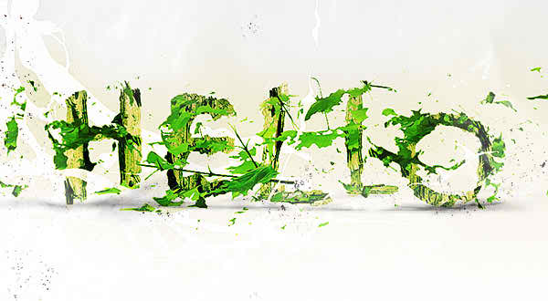Leaf Typography
