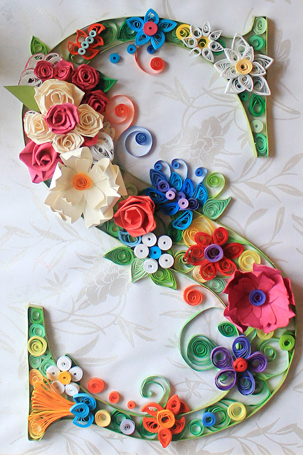 27 finest paper quilling designs and artworks for Best quilling designs