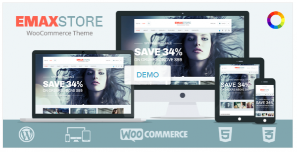 emax store woocommerce theme
