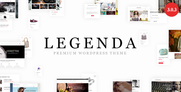 legenda woocommerce theme